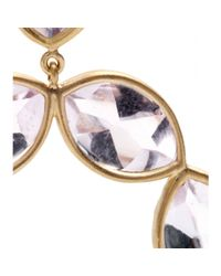 Jamie Wolf - Metallic 18kt Yellow Gold Linked Marquis Amethyst Earrings - Lyst