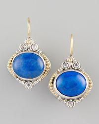 Konstantino | Blue Lapis Drop Earrings | Lyst