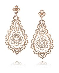 Laurent Gandini | Metallic Serenissima 9karat Rose Gold Earrings | Lyst