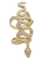 Loree Rodkin | Metallic Diamond Crown Mid Finger Ring | Lyst