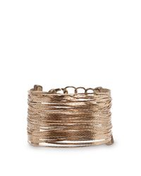 Mango | Metallic Touch Snake Chains Bracelet | Lyst