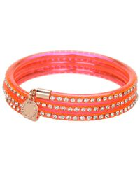 Marc By Marc Jacobs | Orange Slinky Bangle | Lyst