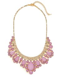BaubleBar | Purple Lilac Snow Collar | Lyst