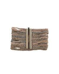 Carolina Bucci | Metallic Multi Strand Lucky Bracelet | Lyst