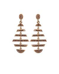 Yossi Harari - Metallic Medium Sticks and Stones Earrings - Lyst