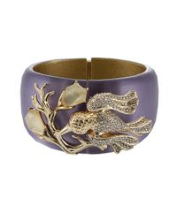 Alexis Bittar | Blue Large Ophelia Hummingbird Bracelet | Lyst