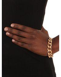 BaubleBar - Metallic Ivory Gloss Enamel Bracelet - Lyst