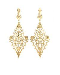 Iam By Ileana Makri - Metallic Chantilly Pendant Earrings - Lyst