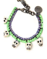 Venessa Arizaga - Green Mojito Bracelet - Lyst