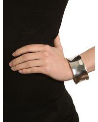 BaubleBar | Metallic Silver Liquid Cuff | Lyst