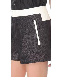 Helmut Lang - Gray Shy Shorts - Lyst