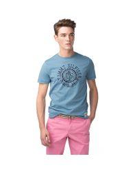 Tommy Hilfiger | Blue Clyde Regular Fit Tshirt for Men | Lyst