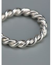 Helena Rohner - Metallic Twister Ring - Lyst