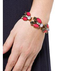 Mango - Multicolor Touch Color Stones Bracelet - Lyst