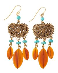 Stephen Dweck | Red Turquoise Horn Drop Earrings | Lyst