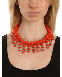 BaubleBar | Pink Tangelo Ariel Necklace | Lyst