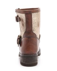 Ash - Brown Tears Boots with Buckle - Lyst