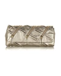 Christian Louboutin | Pillow Metallicleather Clutch | Lyst