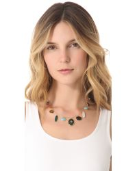 Elizabeth and James   Multicolor Plated Victorian Star Necklace   Lyst
