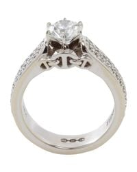 Hoorsenbuhs - Diamond White Gold Isis Ring - Lyst