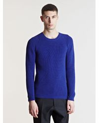 Jil Sander | Blue Sweater for Men | Lyst