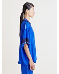Lanvin | Blue Haut Top | Lyst