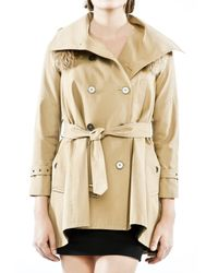 Rebecca Minkoff | Natural Jacquelyn Trench Coat | Lyst