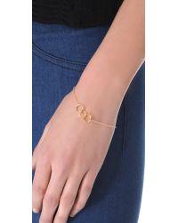 Gorjana - Metallic Infinity Ii Charm Bracelet - Lyst