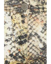 Isabel Marant - Green Haper Leather Skinny Pants - Lyst