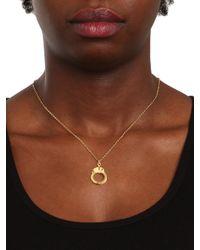 BaubleBar - Metallic Gold Handcuff Charm - Lyst