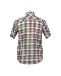 Carhartt - Red Fort Plaid Short Sleeve Shirt for Men - Lyst