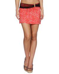 John Galliano - Red Beach Dress - Lyst