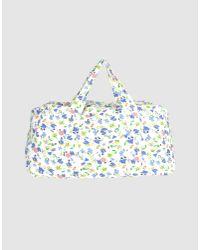 Ganni - White Medium Fabric Bag - Lyst