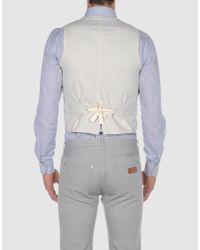 Golden Goose Deluxe Brand - Gray Waistcoat for Men - Lyst