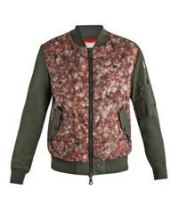 Moncler | Green Biggin Camofront Coat | Lyst