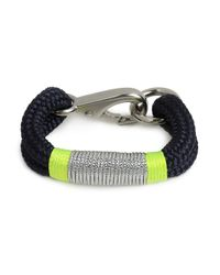BaubleBar | Blue The Ropes Maine Navy Kennebunkport Bracelet | Lyst