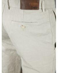 Ermenegildo Zegna - Gray Chino Trouser for Men - Lyst