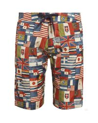 Moncler | Multicolor Flag Swim Shorts for Men | Lyst