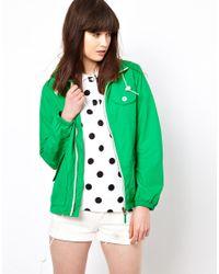 Penfield - Green Zip Through Rain Jacket - Lyst