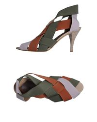 Acrobats Of God - Green Highheeled Sandals - Lyst