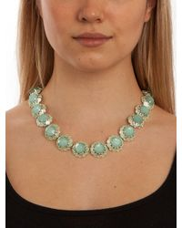 BaubleBar - Green Mint Bloom Strand - Lyst