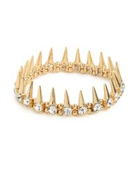 BaubleBar | Metallic Spiked Crown Bracelet | Lyst
