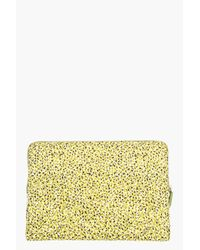 KENZO - Green Yellow Graphic Printed Laptop Case for Men - Lyst