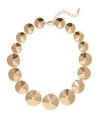 BaubleBar | Metallic Gold Cone Strand | Lyst