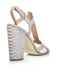 Sigerson Morrison - Gray Calee Sandals - Lyst