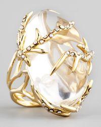Alexis Bittar | Gold Ophelia Vine Ring | Lyst