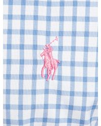 Polo Ralph Lauren | Blue Polo Golf By Polo Ralph Lauren Custom Fit Long Sleeve Shirt for Men | Lyst