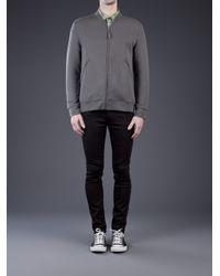 Comune - Gray Andrew Bomber Jacket for Men - Lyst