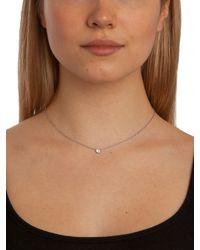 BaubleBar - Metallic Silver Gem Dot Pendant - Lyst