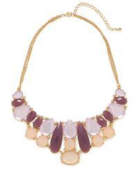 BaubleBar | Purple Miriam Bib | Lyst